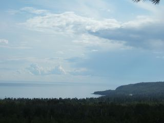 scenic overlook of Lake Superior